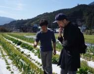顔が見える農家!ヒデちゃん農園をフレンチシェフと訪問。