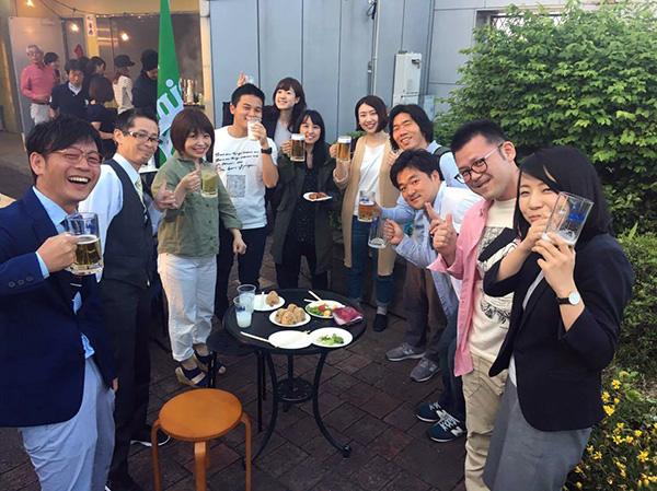 人と人とを繋ぐ那珂川町の魅力発信の場≪博多南ナチュラルビアガーデン≫が、2017年も博多南駅前ビルに登場!